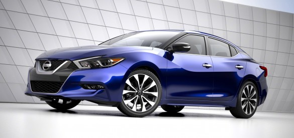 2016 NISSAN MAXIMA U201c4 DOOR SPORTS CARu201d MAKES GLOBAL DEBUT AT NEW YORK  INTERNATIONAL AUTO SHOW Nissan Today Unveiled The All New Nissan Maxima  During A Press ...
