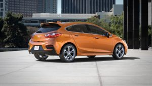 The 2017 Cruze Hatch offers the design, engineering and technolo