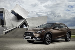 Designed for a new generation of buyers who are not willing to be defined by their choice of vehicle body type, the Infiniti QX30 challenges convention with its bold character and daring shape.