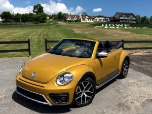 2017 VW Beetle Dune Convertible