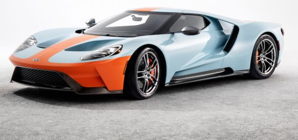Tdn News  Ford Gt Gulf Heritage Edition Vin  To Be Auctioned In January Ford Is Donating Proceeds From The Sale Of The  Ford Gt Heritage