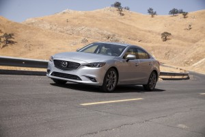 Refreshed 2016 Mazda6 Took Top Segment Honors in J.D. Power APEAL Awards (PRNewsFoto/Mazda North American Operations)